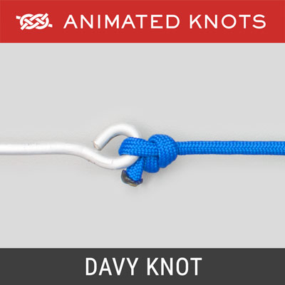 Davy Knot - Best Fishing Knots