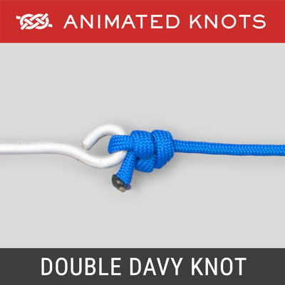 Double Davy Knot - Best Fishing Knots