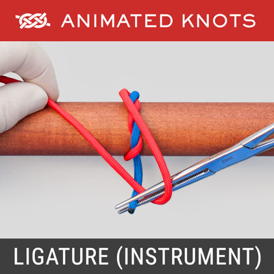 Ligature Knot- - Instrument Technique - Surgical