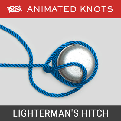 Lighterman's Hitch - Secure a tow line to a bollard