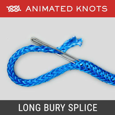 Long Bury Splice - Rope Splicing