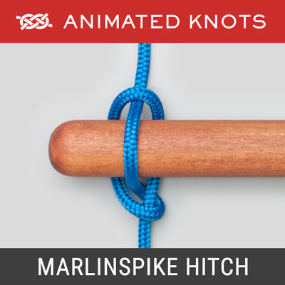Marlinspike Hitch - DIY Rope Ladder