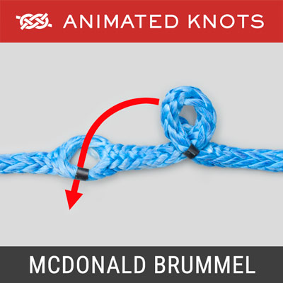 McDonald Brummel Splice - Rope Splicing