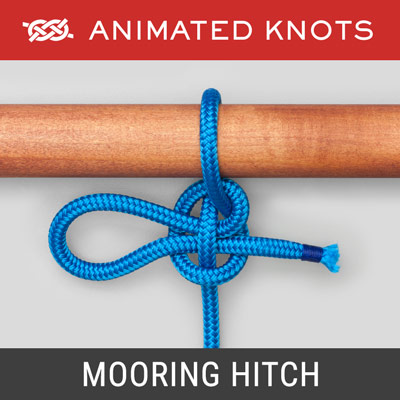 Mooring Hitch - Holds a boat temporarily to a dock
