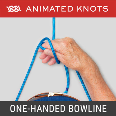 One-Handed Bowline Knot