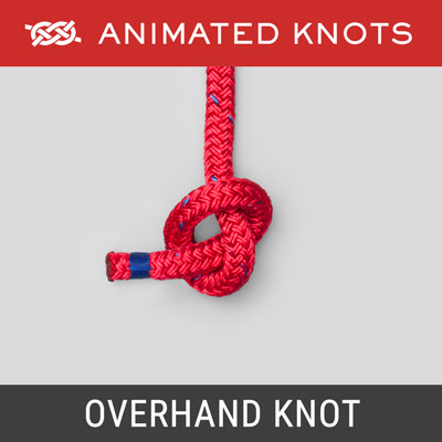 Overhand Knot - Single-Strand Stopper Knot