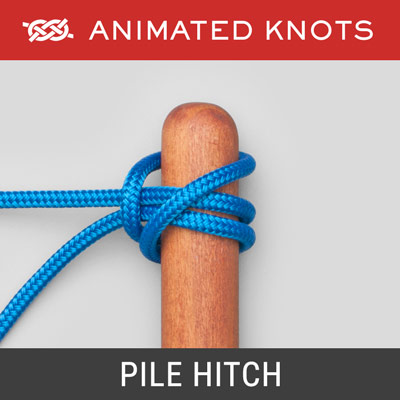 Pile Hitch - Attach a mooring line to a dock post