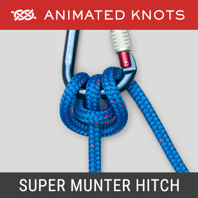 Super Munter Hitch Knot - Climbing Knots