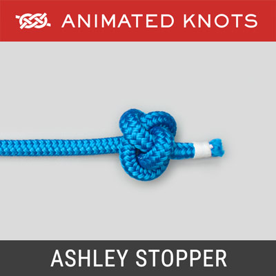 Ashley Stopper Knot - bulky stopper knot