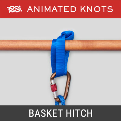 Basket Hitch - a closed loop made of rope or webbing