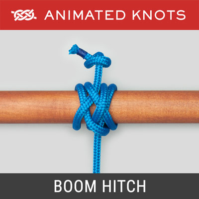 Boom Hitch - tolerates tension at right angles to the boom