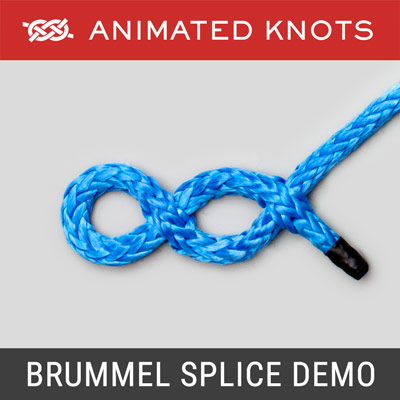 Brummel Splice - Splicing Rope Demo