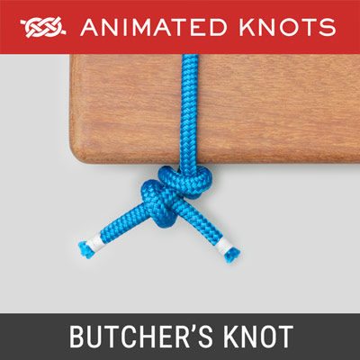 Butchers Knot - used to prepare meat for roasting