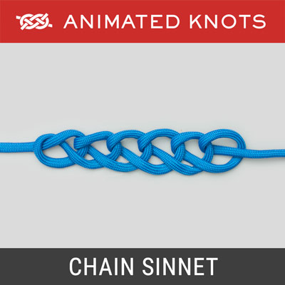 Chain Sinnet - series of simple crochet-like stitches