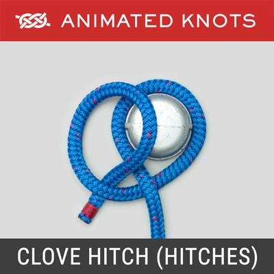Clove Hitch - Half Hitches Method