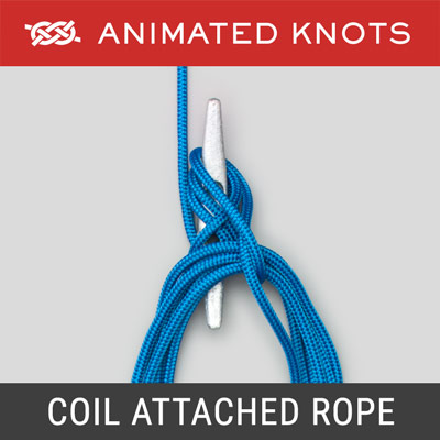 Coil Rope when rope is attached