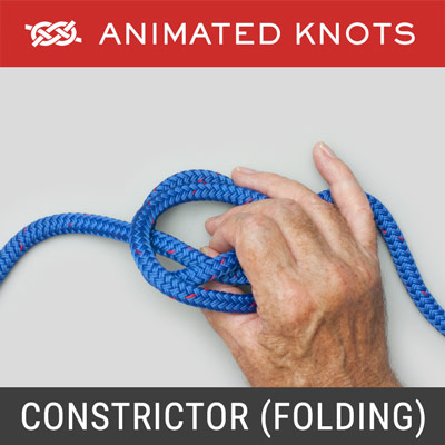 Constrictor Knot - Folding Method
