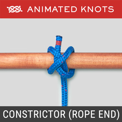 Constrictor Knot - Rope End Method