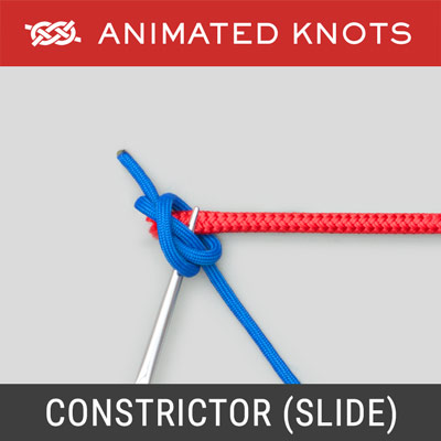 Constrictor Knot - Forceps Slide Method - Surgical Knots