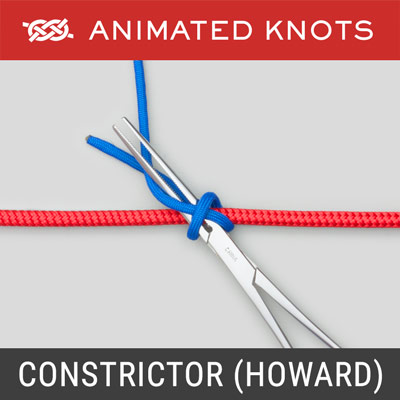 Constrictor Knot - Instrument Method - Howard Technique