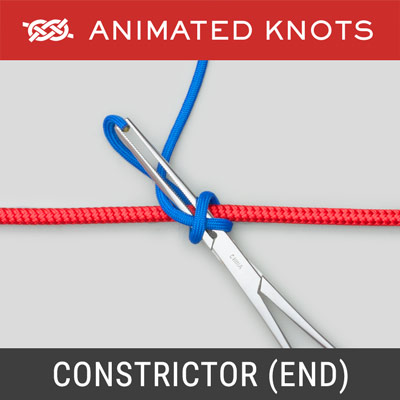 Constrictor Knot - Retrieve End Method - Surgical Knots