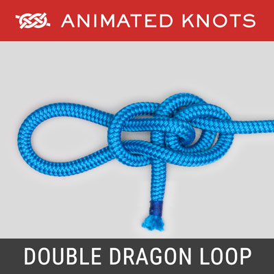 Double Dragon Loop - End-of-rope loop