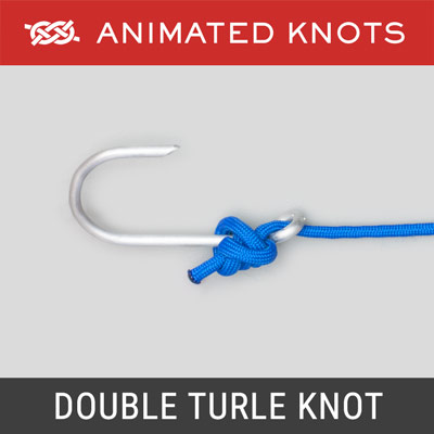Double Turle Knot - Best Fishing Knots