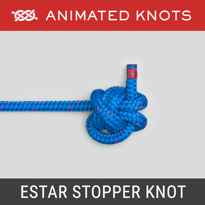 EStar Stopper Knot - suitable for slippery rope