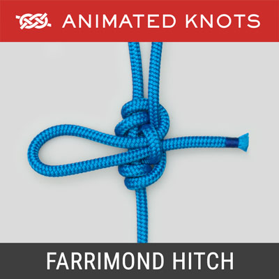 Farrimond Friction Hitch - Scouting Knots