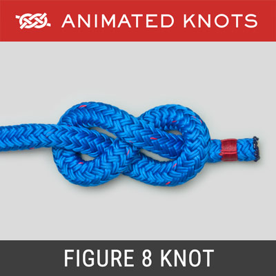 How to tie a basic knot