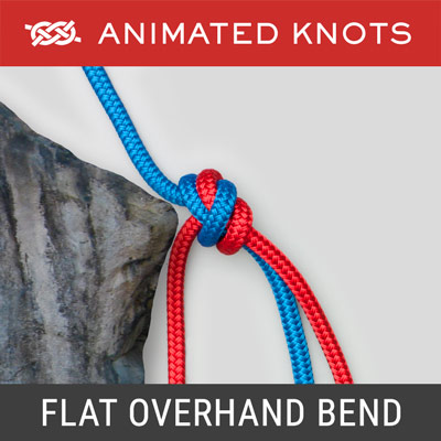 Flat Overhand Bend - known as European Death Knot