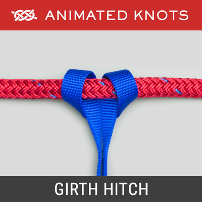 Girth Hitch - a webbing loop sling