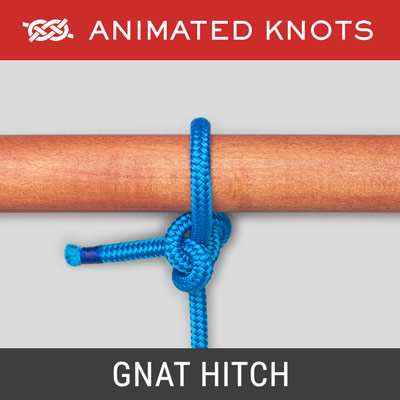 Gnat Hitch - a small, secure hitch knot