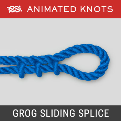 Grog Sliding Splice - an adjustable yachtsman's belt