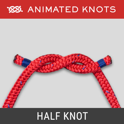Basic Knots Learn How To Tie Basic Knots Using Step By Step Animations Animated Knots By Grog