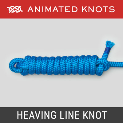 Heaving Line Knot - Weights end of a rope