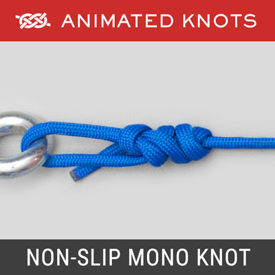 Non Slip Mono Knot - Best Fishing Knots