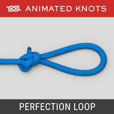 End Loop Knots Learn How To Tie End Loop Knots Using Step By Step Animations Animated Knots By Grog