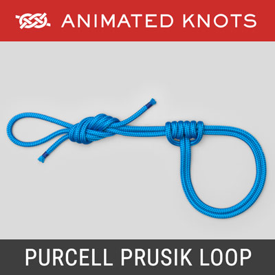 Purcell Prusik Loop Knot - Adjustable sling system