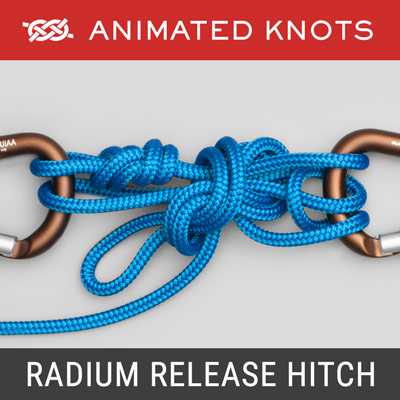 Radium Release Hitch Knot - Load-releasing hitch