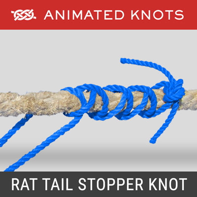 Rat Tail Stopper Knot