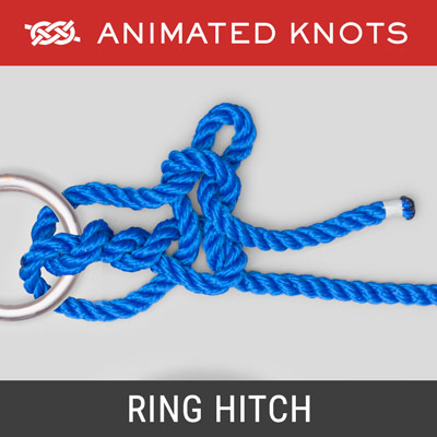 Ring Hitch Knot - Used to tie a Horse to a ring