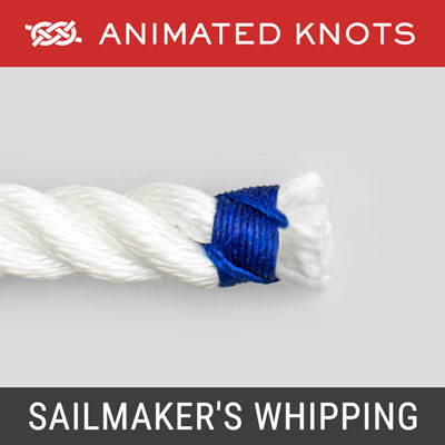 Sailmakers Whipping - Prevents rope ends from fraying