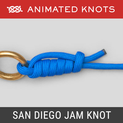 San Diego Jam Knot - Best Fishing Knots