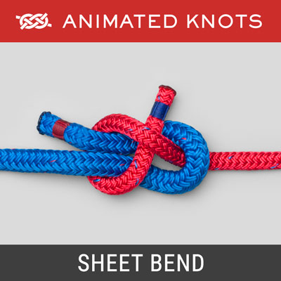 Sheet Bend Knot - Joins two ropes