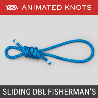 Sliding Double Fisherman's Knot - Arborist Knot