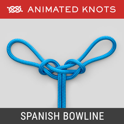 Spanish Bowline Knot - Search and Rescue work
