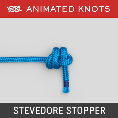 Stevedore Stopper Knot - Use when setting a tarp