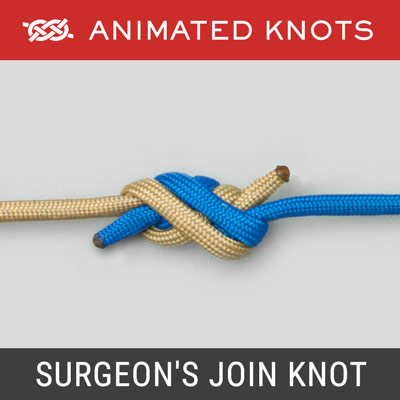 Surgeons Join Knot - Best Fishing Knots
