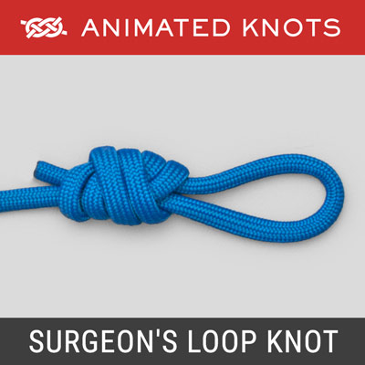 Surgeons Loop Knot - Best Fishing Knots
